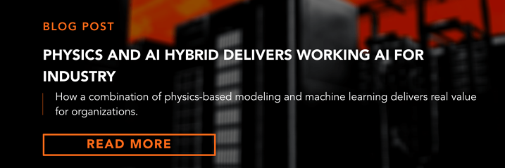 Banner  Blog  Physics and AI Hybrid delivers working AI for industry