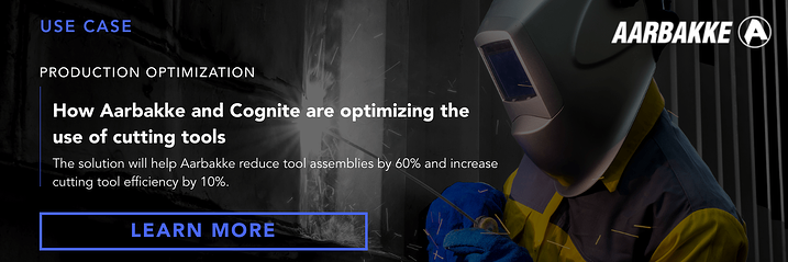 Banner  Use case  How Aarbakke and Cognite are optimizing the use of cutting tools