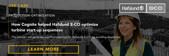 Banner  Use case  How Cognite helped Hafslund E-CO optimize turbine start-up sequences