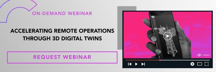 Banner  Webinar  Accelerating remote operations through 3D digital twins