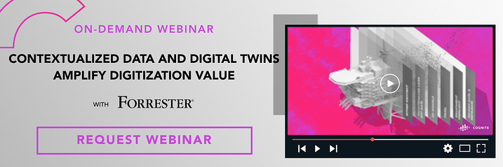 Banner  Webinar  Contextualized data and digital twins amplify digitization value