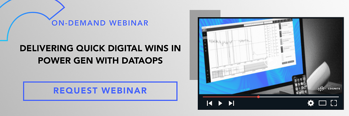Banner  Webinar  DELIVERING QUICK DIGITAL WINS IN POWER GEN WITH DATAOPS