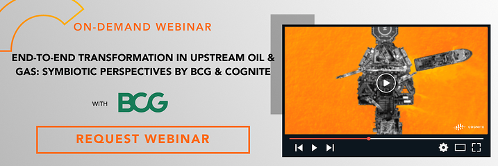 Banner  Webinar  End-to-end transformation in upstream oil & gas
