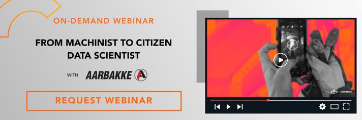 Banner  Webinar  From machinist to citizen data scientist