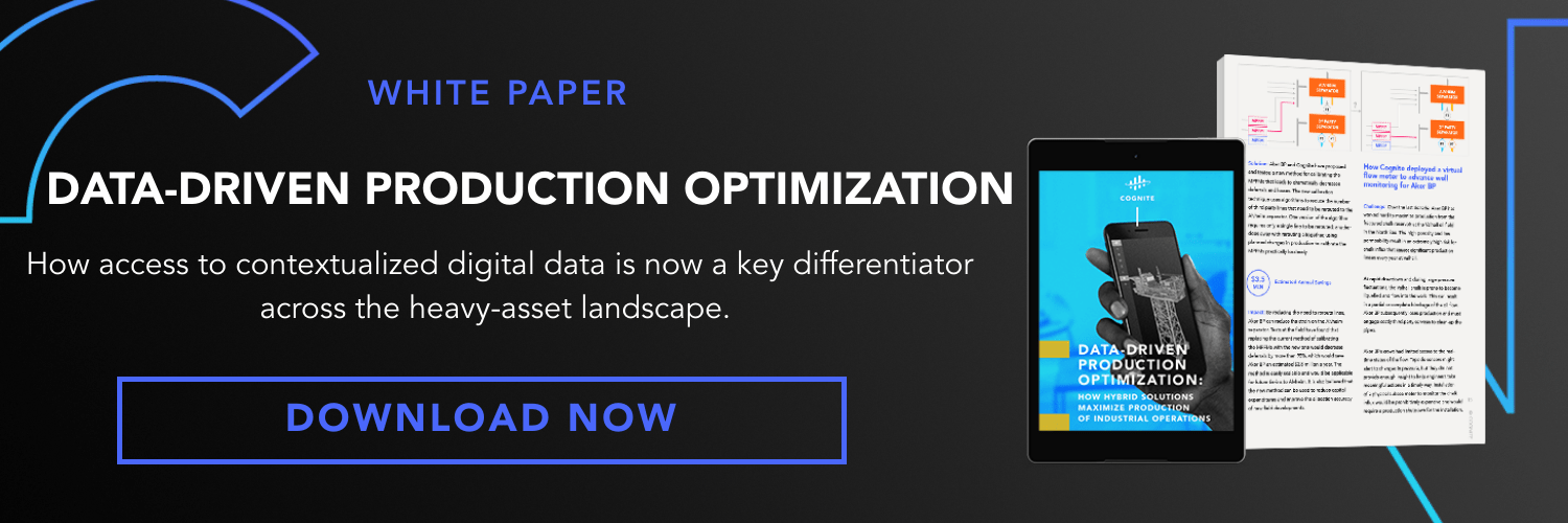 Banner  White Paper  Data-driven production optimization