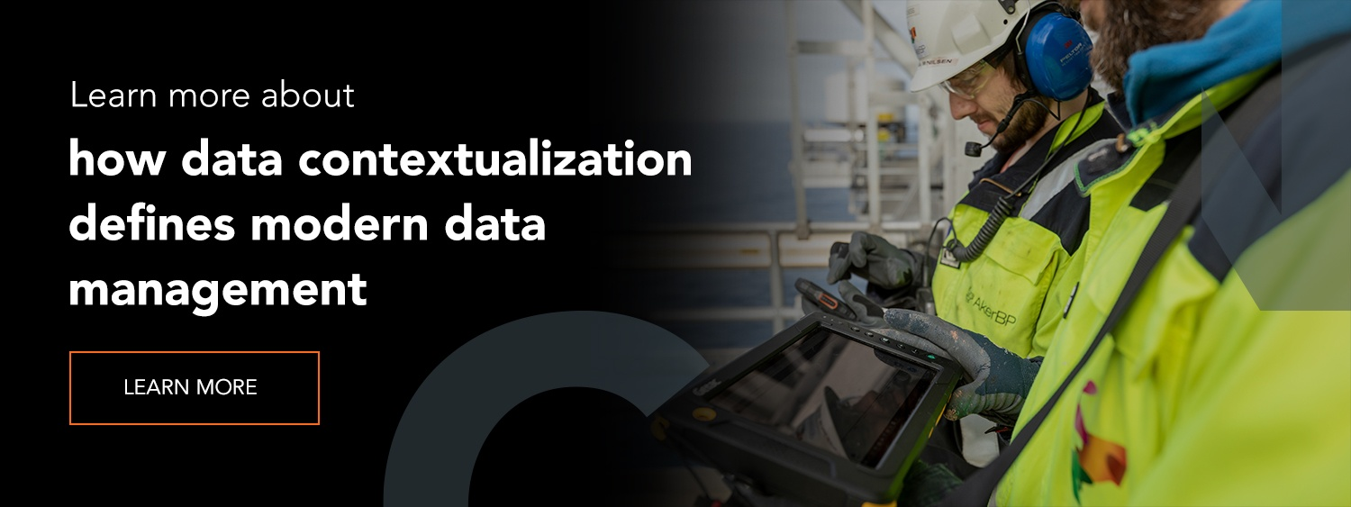 Learn more about how data contextualization defines modern data management