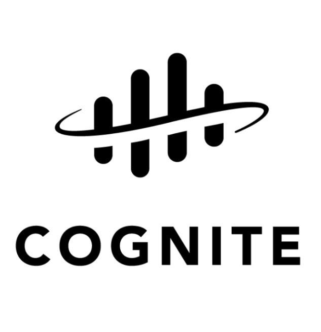 Cognite email sign logo