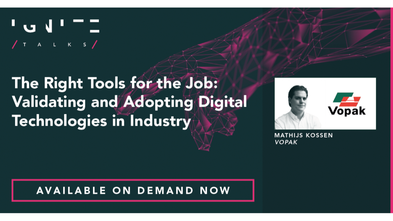 The Right Tools for the Job: Validating and Adopting Digital Technologies in Industry