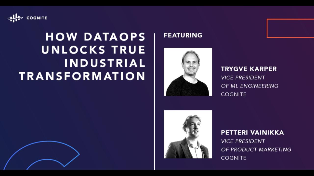 How DataOps unlocks true industrial transformation