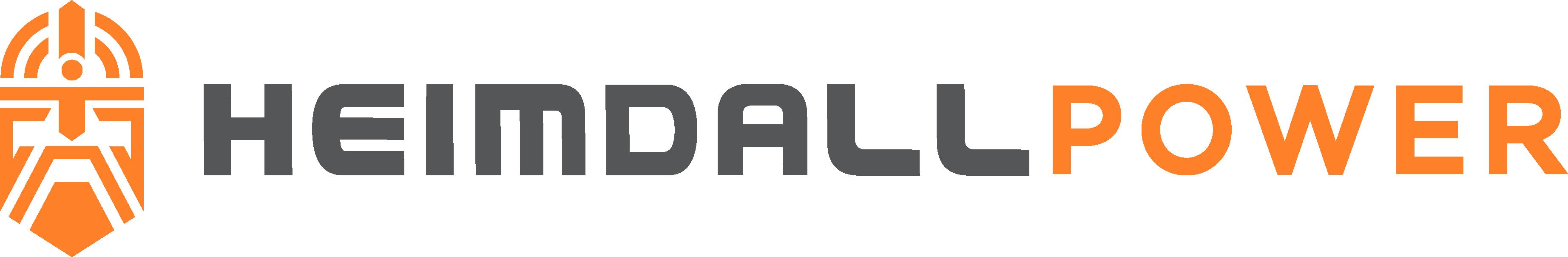 Heimdall Power logo - text on right