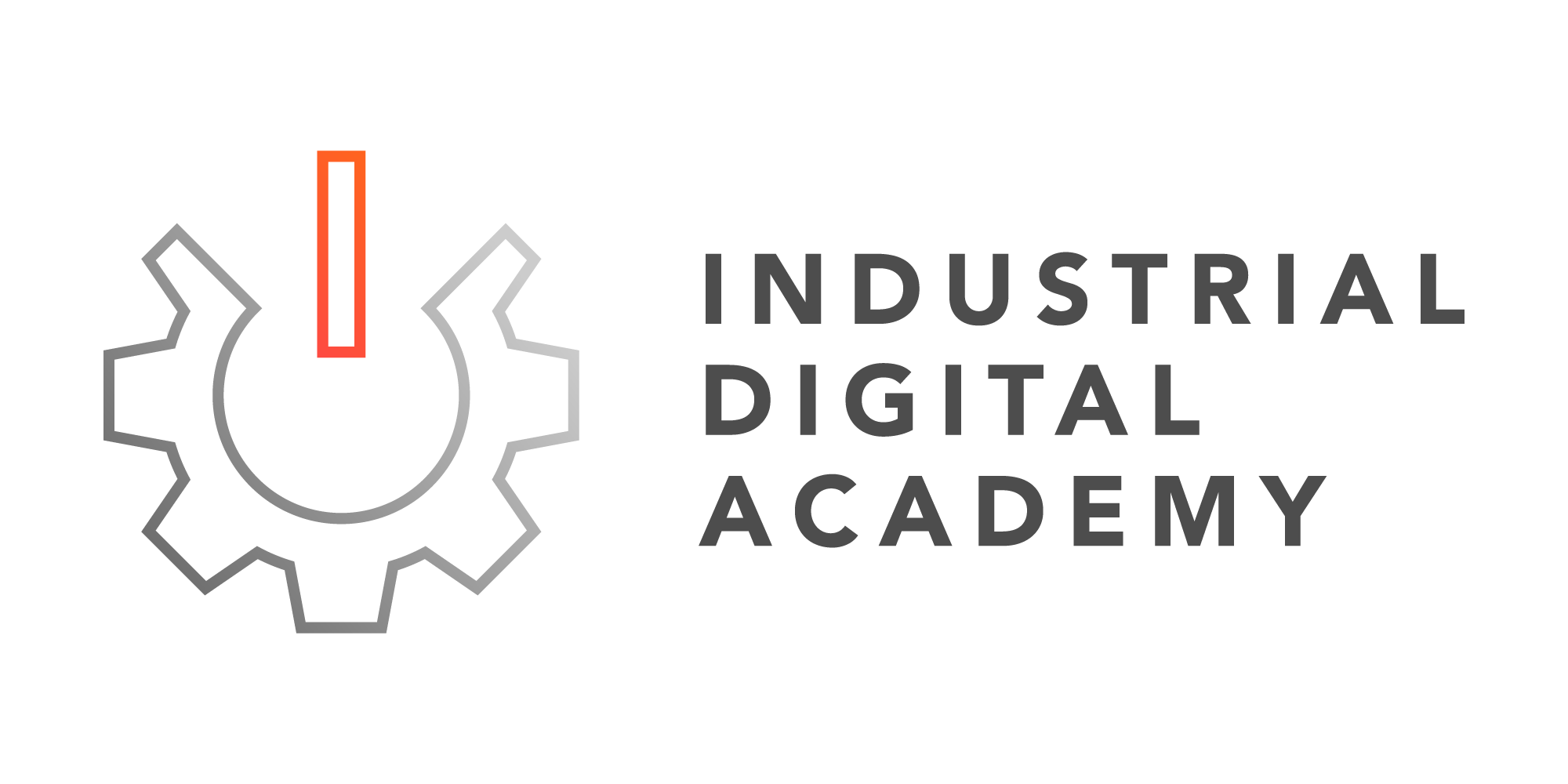 Industrial Digital Academy Logo - Horizontal L
