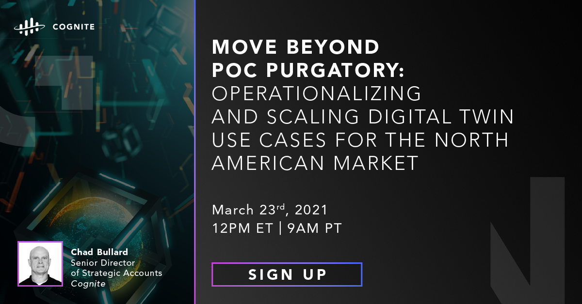 Move Beyond POC Purgatory: Operationalizing and Scaling Digital Twin Use Cases for the North American Market