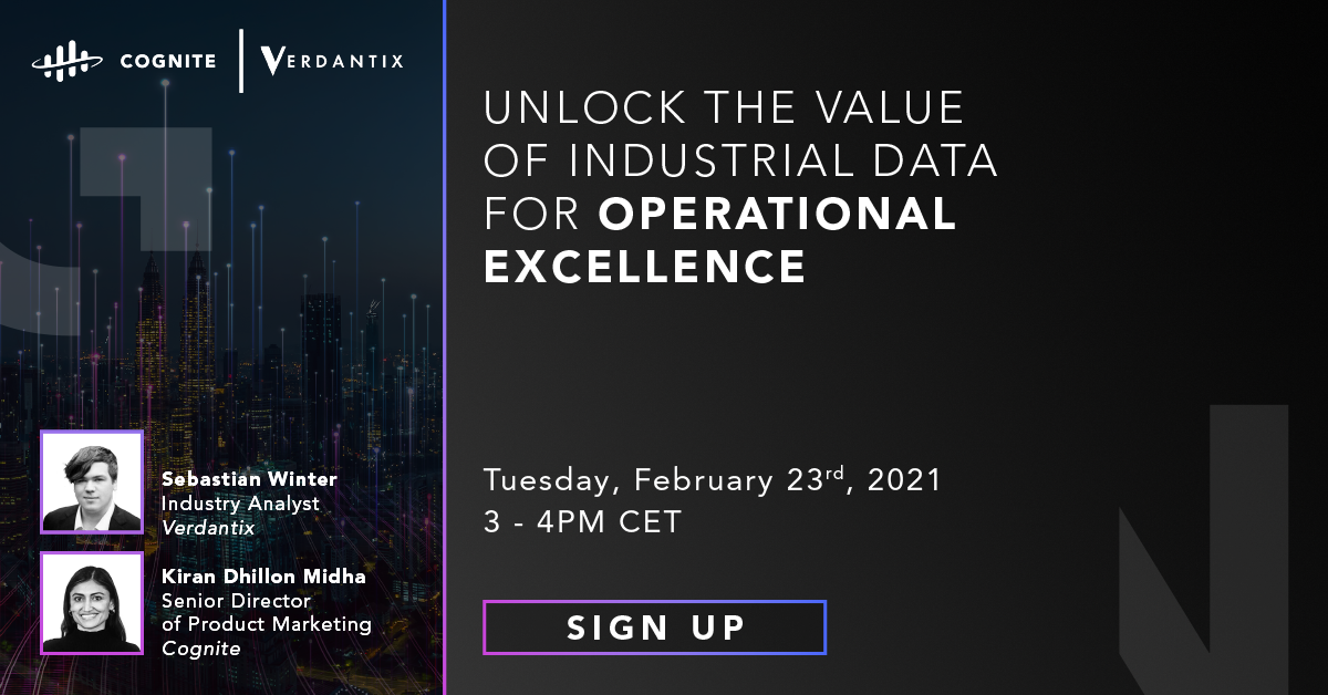 Unlock the Value of Industrial Data for Operational Excellence