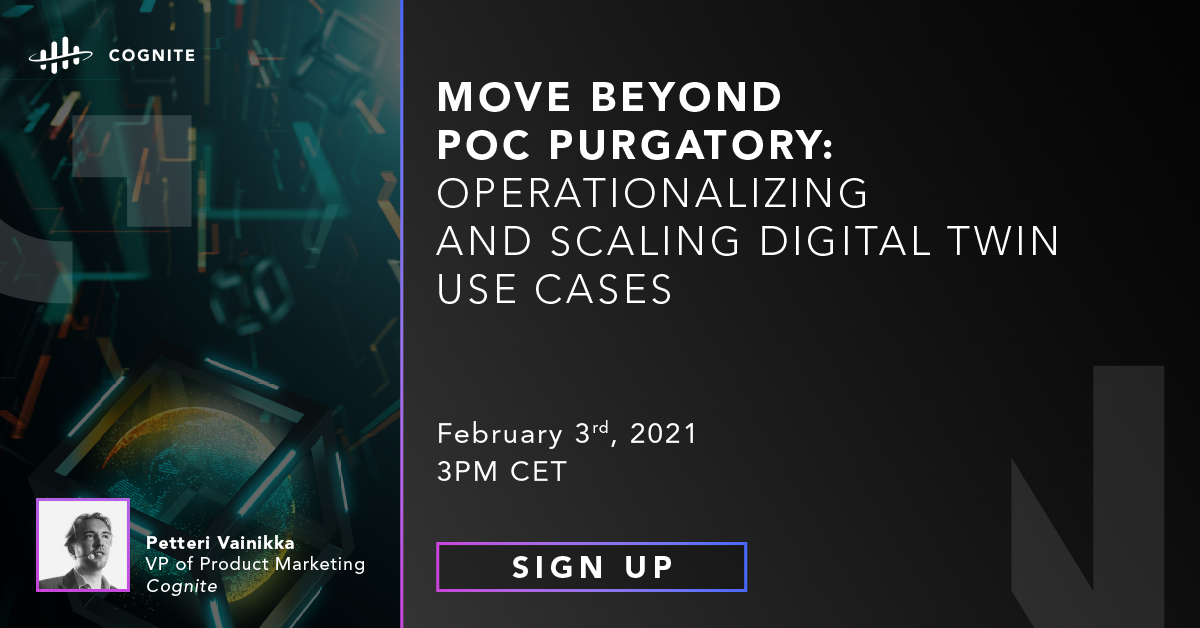 Move Beyond POC Purgatory: Operationalizing and Scaling Digital Twin Use Cases